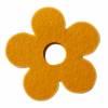 Blume aus Wollfilz