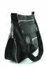 Bag Street Nylon Schultertasche Crinkle Nylon Shopper schwarz BS2221sw