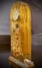 Der Kuss – Tischuhr von Gustav Klimt