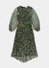 Essentiel Antwerp- gepunktetes Kleid  Sharkeisha