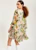 Essentiel Antwerp- geblümtes Kleid Toriflower T1GR