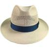 Herren-Hut, Imperia, handgeknüpfter, luftiger Panama, Fb. natur, Größe:  59, Mayser