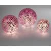 Tischlampe Mosaik rosa Glas 25cm in der Galerie 10er-Haus kaufen
