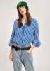 Essentiel Antwerp - Bluse Tichael Striped Shirt in T1TU