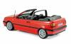 Norev – 1995 Volkswagen VW Golf Cabriolet – Red – # 188433 (1/18)