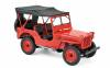 Norev – 1942 Jeep – Red – # 189014 (1/18)