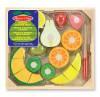 Obst & Früchte Spielzeugset zum Schneiden aus Holz