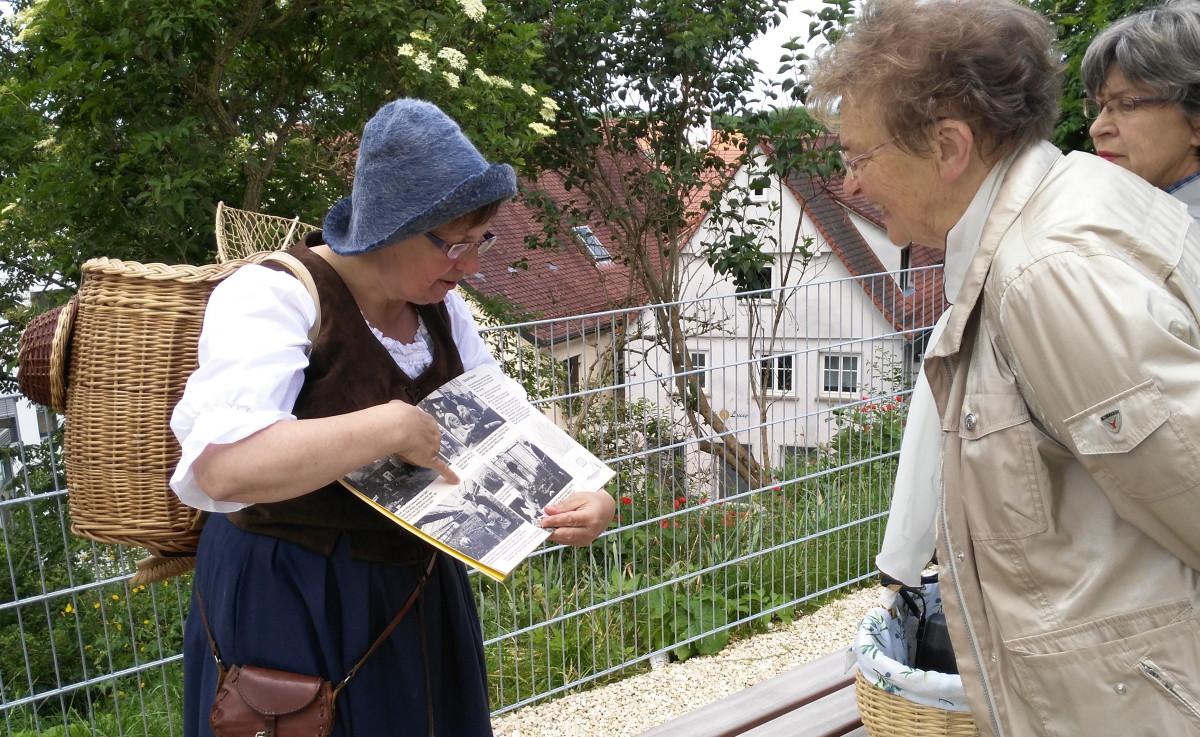 Wochenmarkt Geschichte(n) (Stadtführung mit Monika Stocker)
