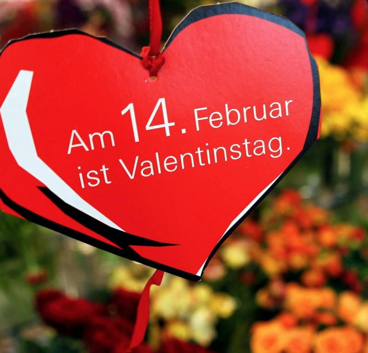 Valentins-Menü für Verliebte