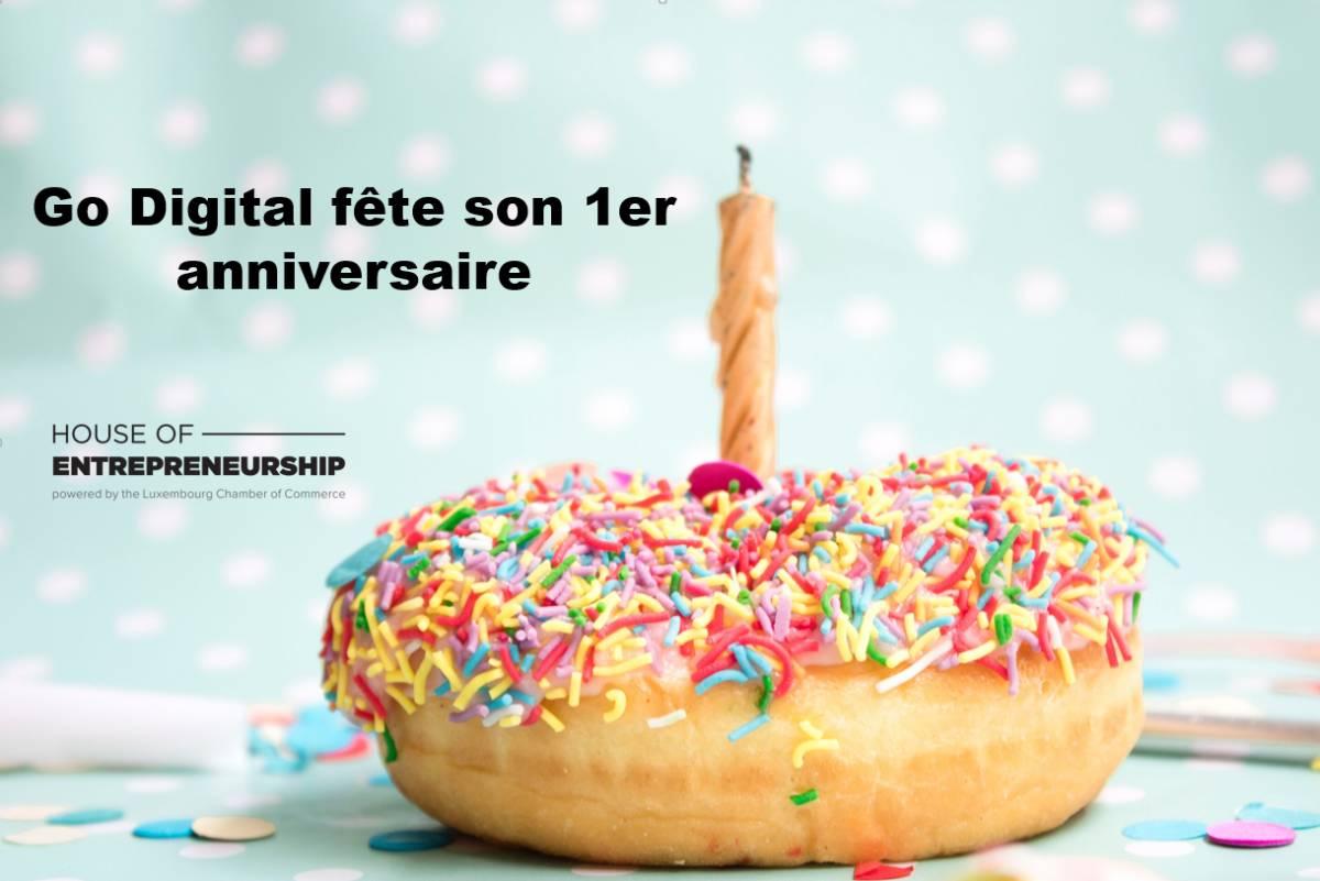 Go Digital feiert Ihren ersten Geburtstag!