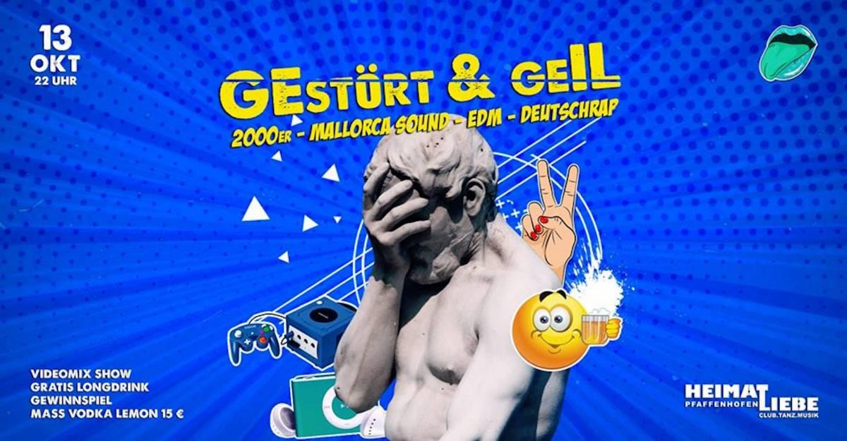 GEstört & geIL - 2000er, DeutschRAP & Mallorca Sound #videomix