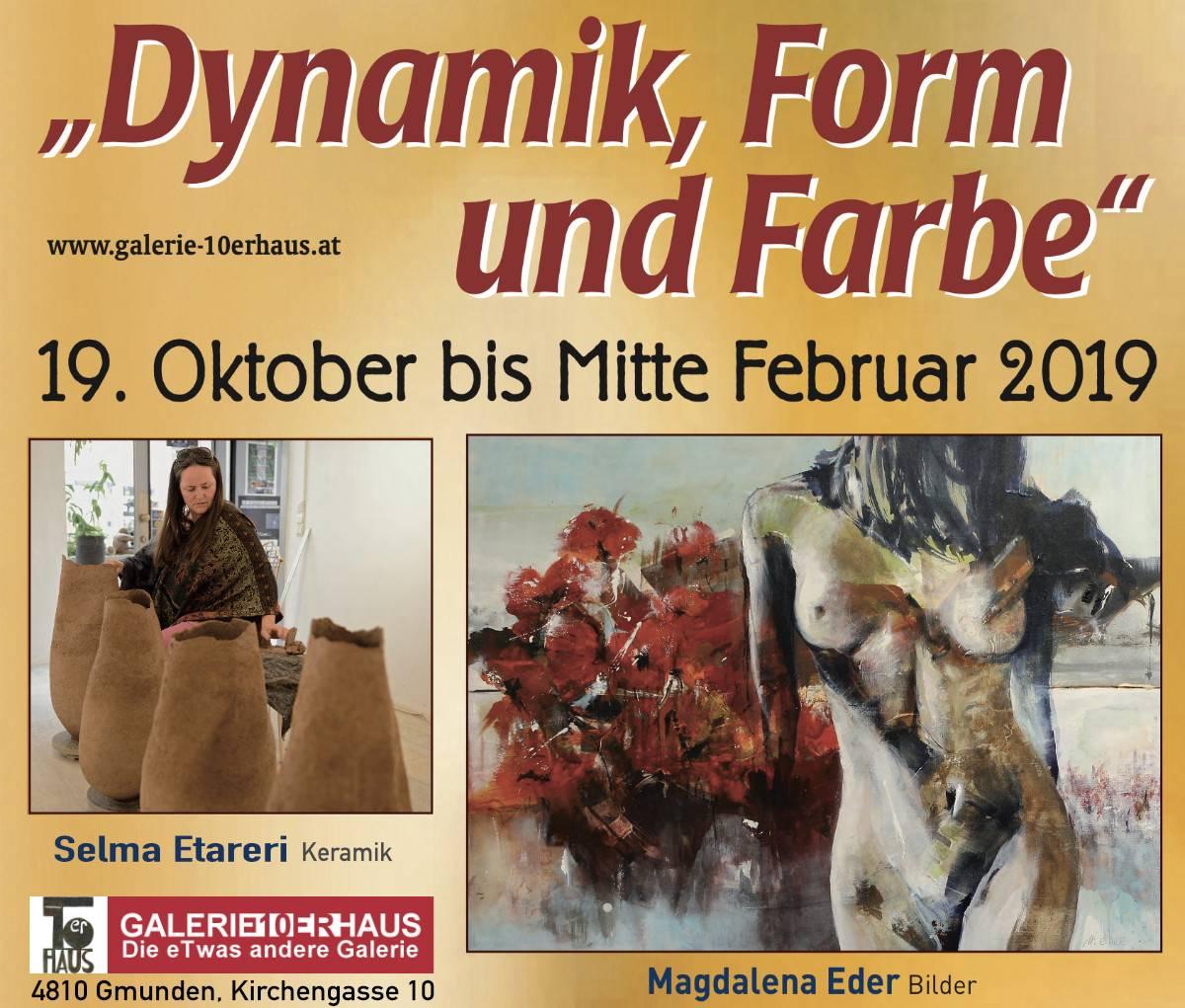 """Ausstellung """"Dynamik, Form und Farbe"""""""