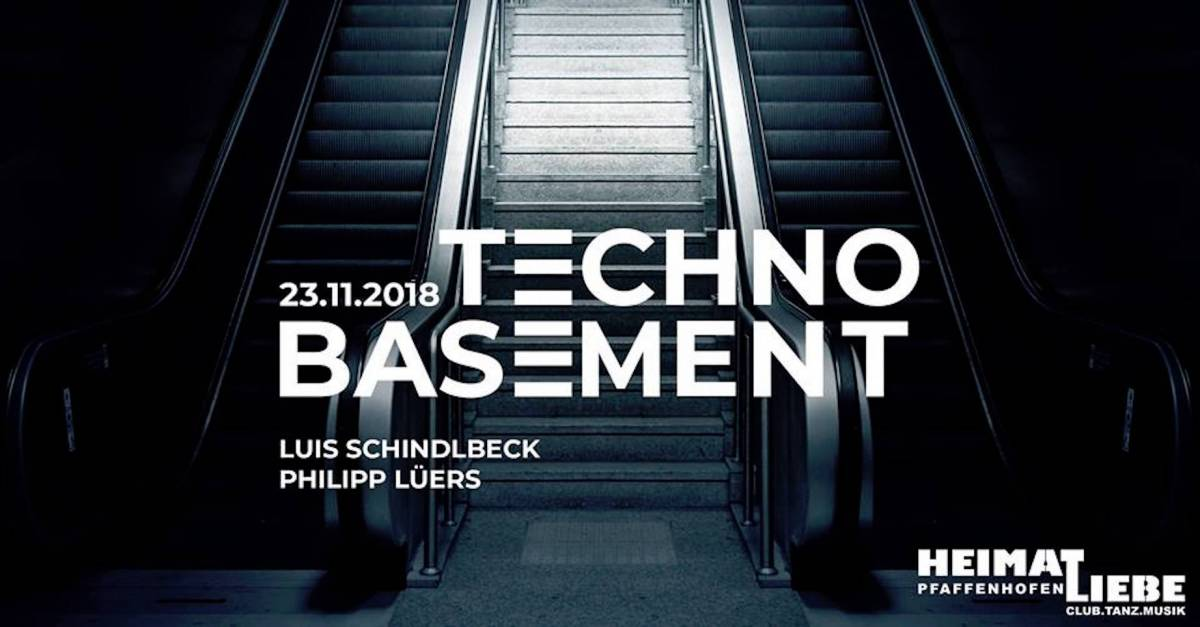 Techno Basement // Wachter, Böhm, Lüers & Schindlbeck