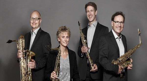 Konzert mit dem Pindakaas Saxophon Quartett