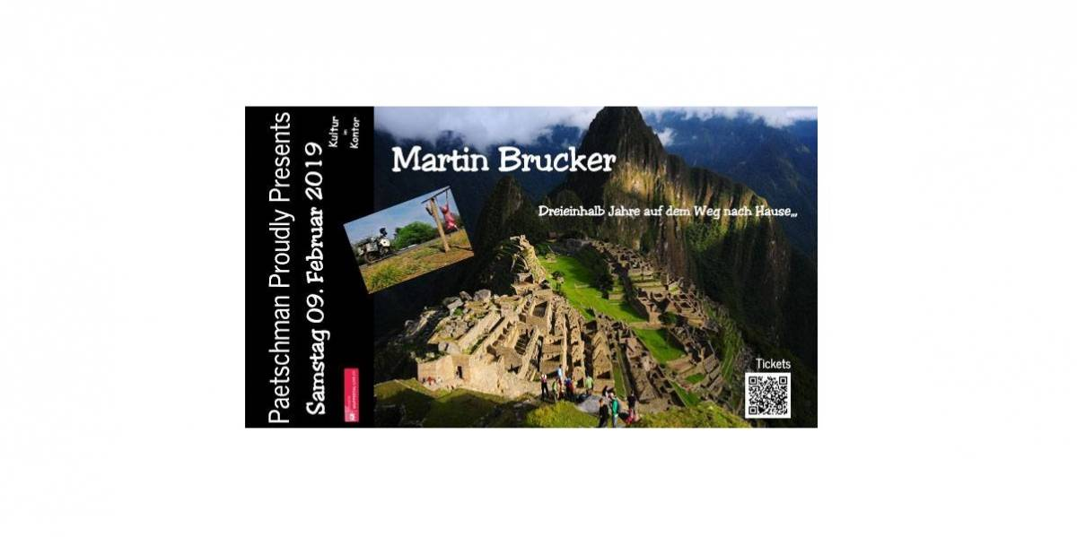 Paetschman Proudly Presents: Martin Brucker
