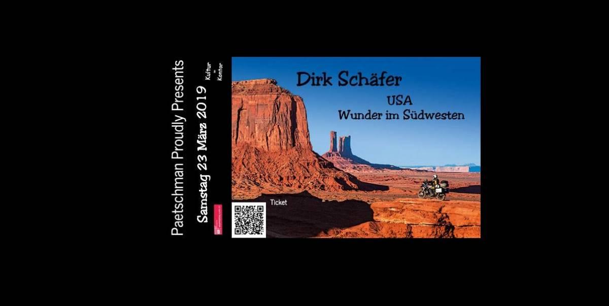 Paetschman Proudly Presents: Dirk Schäfer - USA