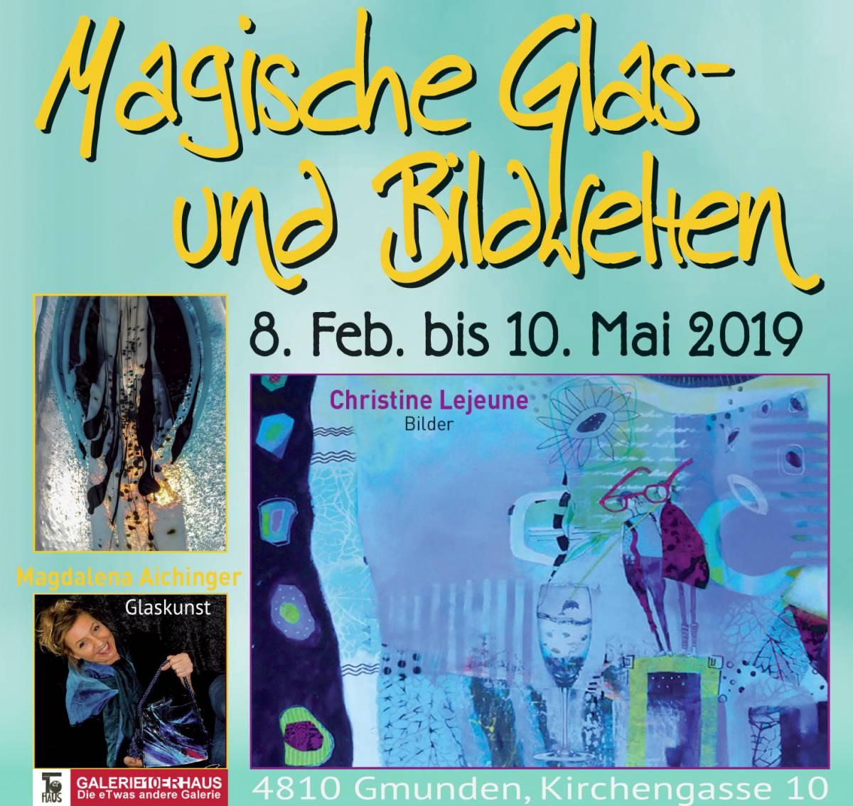 """Ausstellung """"Magische Glas- und Bildwelten"""""""