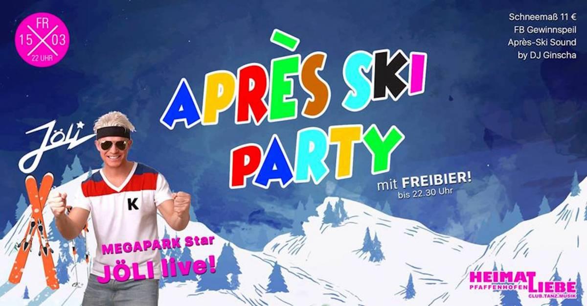 Aprés Ski mit Megapark-Star JÖLI inkl. Freibier #Almrausch