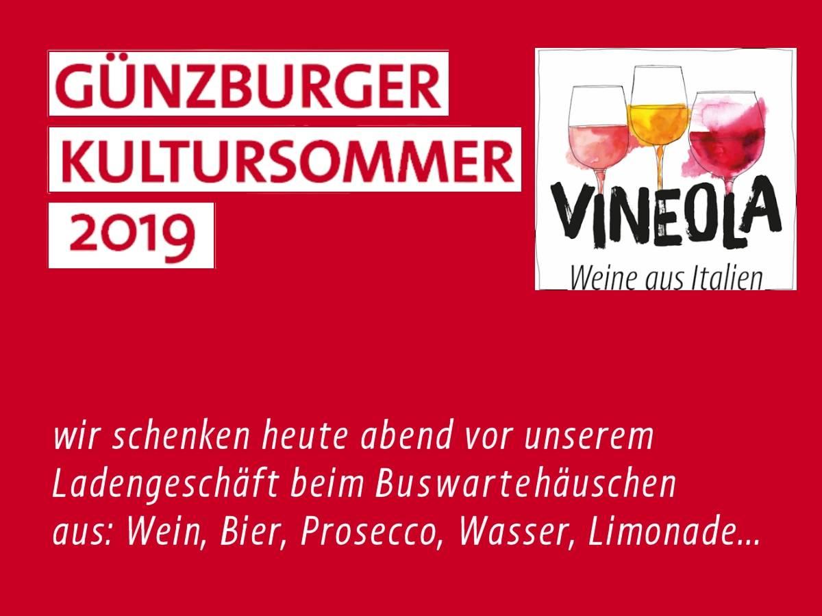 Ausschank Günzburger Kultursommer
