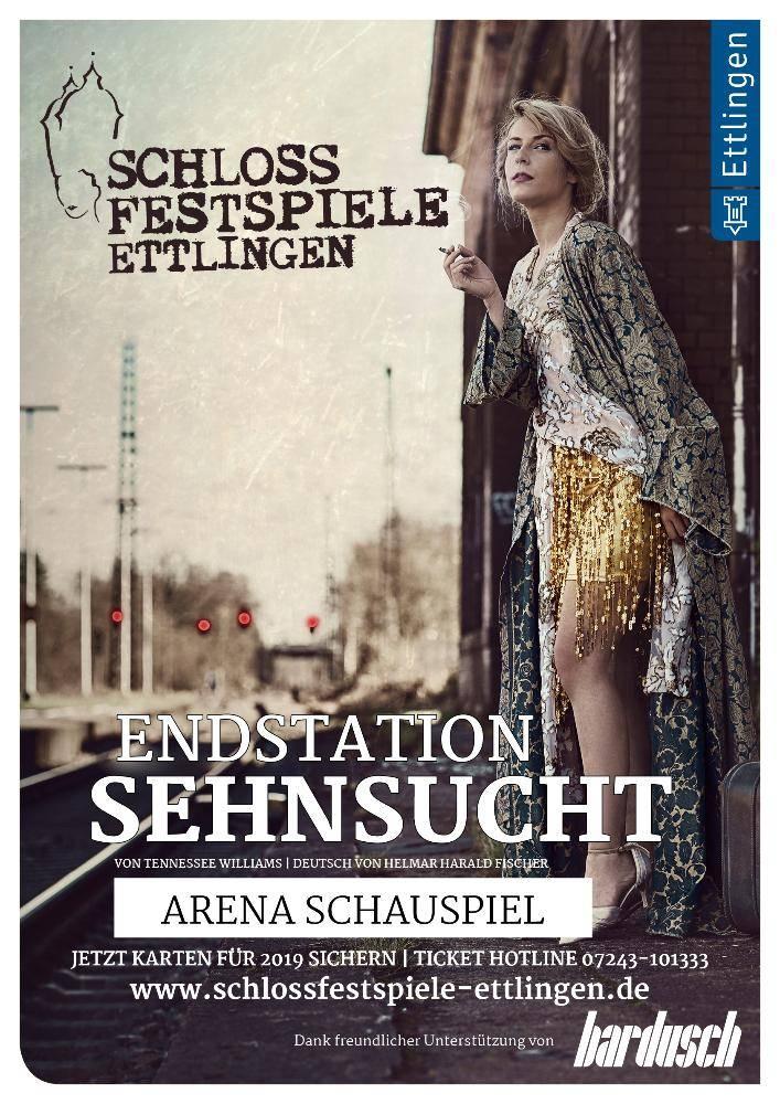 """Schlossfestspiele - """"Endstation Sehnsucht"""" (Schauspiel)"""