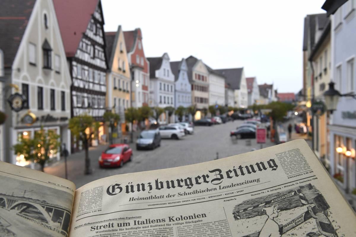 Günzburg macht Schlagzeilen (Stadtführung mit Rebekka Jakob und Stefan Baisch)