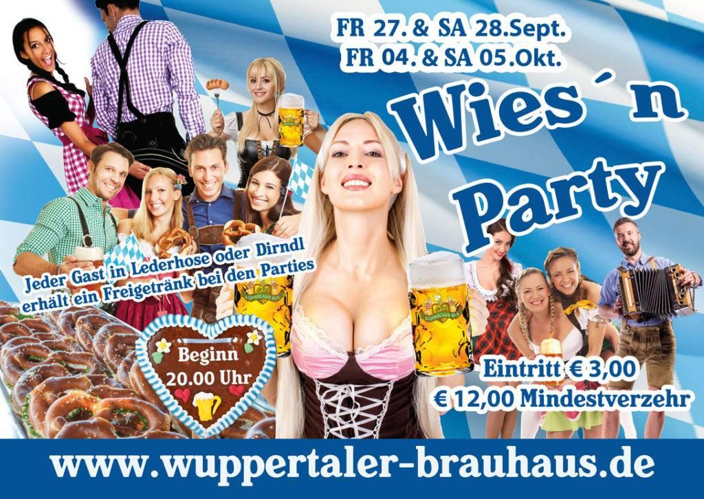 Oktoberfest Wies´n Party
