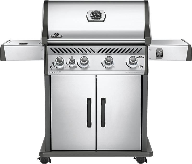 Barbecue Napoleon Rogue Se525rsib Inox Avec Rotisserie