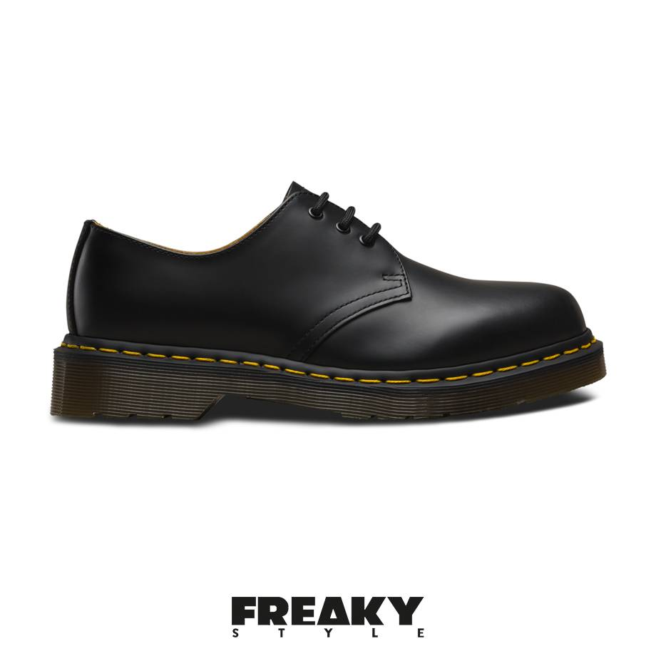 new cheap detailed images high fashion Dr Martens 1461 Black Smooth