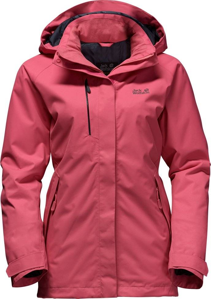 new arrival 3422b 4e29a Jack Wolfskin Damen Winterjacke Northern Edge Woman 1107871 rosebud