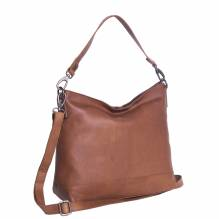 Chesterfield Damen Ledertasche Amelia cognac