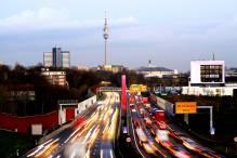 Blick auf Dortmund vom Westen am Tag