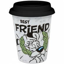Könitz Coffee to go Mug mit Deckel - Characters - 'Best Friend'