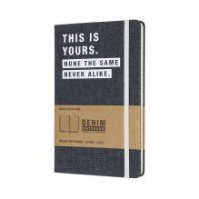 Moleskine Notizbuch Denim 'This is yours' liniert in der Schwanthaler Galerie in Gmunden kaufen
