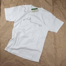 Schloß Ort T-Shirt, Herrn, Baumwolle, Farbe: weiß. Bei Lederbekleidung Paschinger kaufen