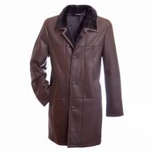 Kurzmantel Gerald, dunkelbraun, Herrn Lammfellmantel der Firma Christ leather, extrem leicht. Bei Lederbekleidung Paschinger kaufen.