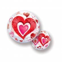 Bubble Ballone - Herz