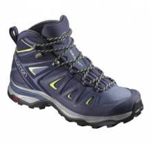Salomon Damen Trekkingschuh X Ultra 3 Mid W GTX L39869100 Farbe: crown blue/evening blue/sunn