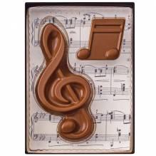 """Weibler Geschenkpackung 'Musik"""" Vollmilch-Schokolade, 40 g"""