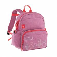 Lässig Medium Backpack About Friends pink mélange