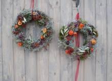 Kurs: Türkranz - Türschmuck und dekorieren mit Floristmeisterin Iris Paap 14.11.2018