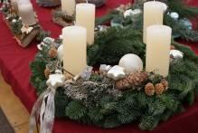 Kurs: Adventskranz dekorieren und gestalten mit Floristmeisterin Iris Paap 22.11.2018