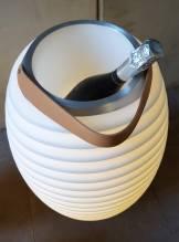KOODUU Synergy 65 - AKKU-LED-Laterne mit Bluetooth-Lautsprecher und Sektkühler
