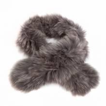 Schal, Fox, grau, Silverfox, 100% natur, bei Lederbekleidung Paschinger kaufen