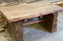 Holztisch, rustikal