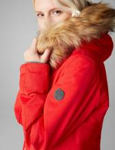 Thermo Winterjacke, Farbe rot, Gr. 42
