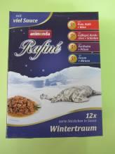 Vorteilspack, 4 Sorten zarte Stückchen in Sauce Wintertraum