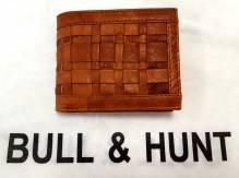BULL & HUNT Geldbörse 'Weaving' - Herren-Geldbörse