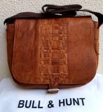 BULL & HUNT Ledertasche Twenty-F 'Weaving' - Überschlagtasche mit Wendefunktion