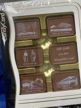 Schokolade mit Motiven
