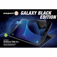 Samsung Galaxy Tab A 10,1' WiFi Bundle, 32GB, schwarz Inklusive Samsung Book Cover schwarz und expert Microfaser-Tuch